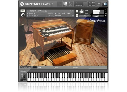 Native Instruments Vintage Organs