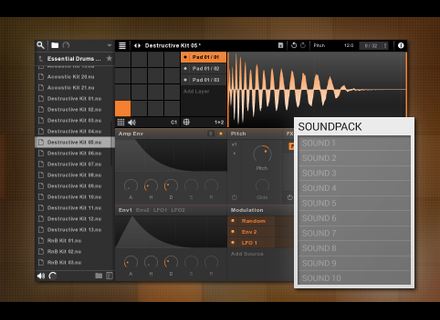 New Sonic Arts Nuance Essential Drums