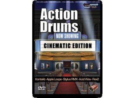 Nine Volt Audio Action Drums: Cinematic Edition