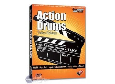 Nine Volt Audio Action Drums: Taiko Edition