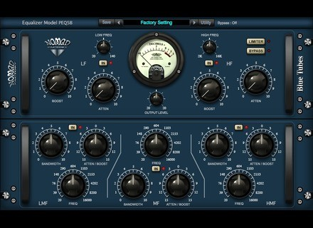 Nomad Factory Equalizer Model PEQ5B