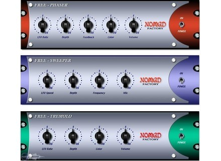Nomad Factory Free Bundle [Freeware]