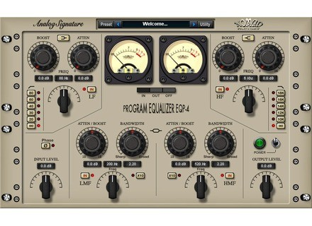 Nomad Factory Program Equalizer EQP-4