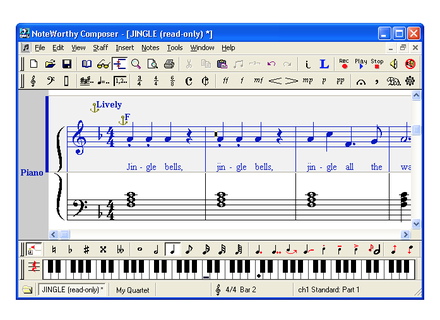 Noteworthy Software NoteWorthy Composer 2