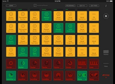 Novation Launchpad 2 App