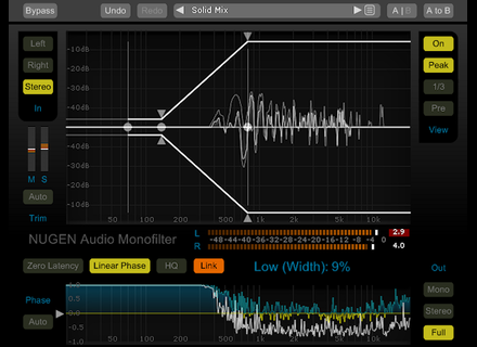Nugen Audio Monofilter 4