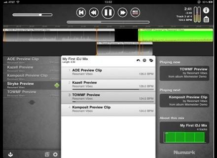 Numark iDJ for iPad