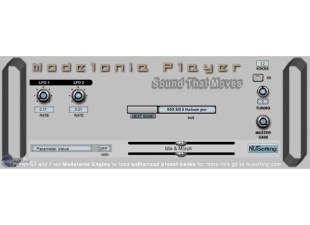 NUSofting Modelonia Player [Freeware]