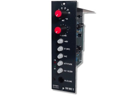 Ocean Audio 500 Mic Pre Two