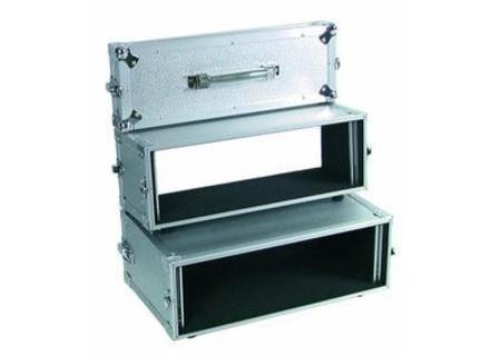 Omnitronic Double lecteur-CD case Tour Pro 3HE alu