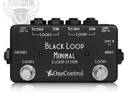 One Control Black Loop Minimal