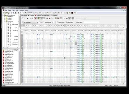 openMPT (freeware) modplug tracker