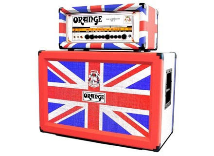 Orange Limited Edition Union Jack Rockerverb 50 MKII / 2x12 Cab Set
