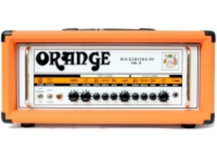 Orange Rockerverb 100 MKII Head DIVO Fitted