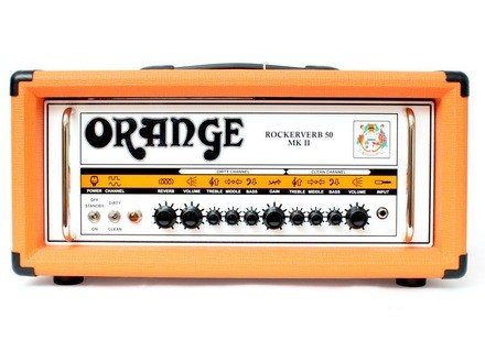 Orange Rockerverb 50 MKII Head