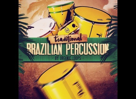 Organic Loops Traditional Brazilian Percussion