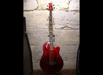Ovation Elite Nikki Sixx Signature Bass