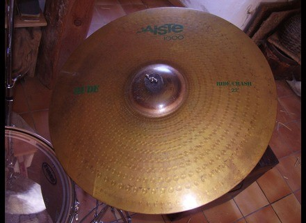 Paiste 1000 Rude Ride/Crash 22""