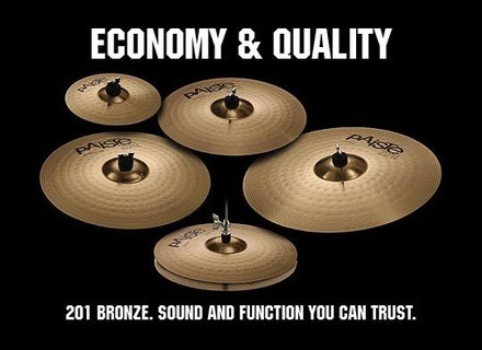 Paiste 201 Bronze Crash 16''