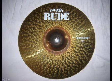 "Paiste Rude Crash/Ride 18"""