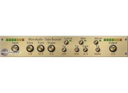 Patrick Wurr Audio Engineering TubeBooster [Freeware]