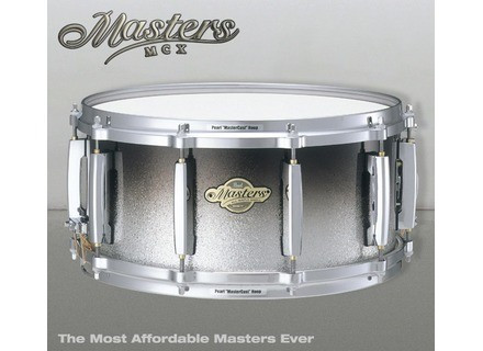 Pearl Masters Custom MCX 14 X 5.5 - Black Sparkle Fade