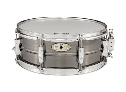 Pearl SensiTone Steel Black Nickel Hair Line Snare 14x5.5