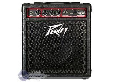 user reviews peavey microbass audiofanzine. Black Bedroom Furniture Sets. Home Design Ideas