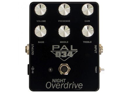 Pedal Pal FX PAL 034 NIGHT Overdrive