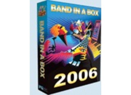 PG Music Band In A Box 2006