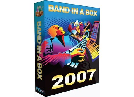 PG Music Band In A Box 2007