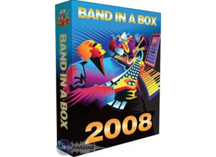 PG Music Band In A Box 2008