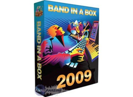 PG Music Band in a Box 2009