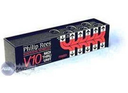 Philip Rees V10 MIDI Thru Unit