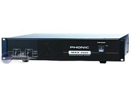 Phonic MAX2500