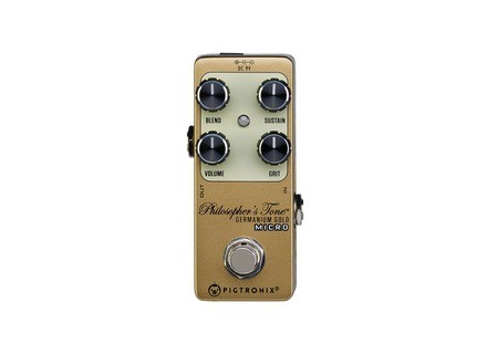 Pigtronix Philosopher's Tone Germanium Gold Micro