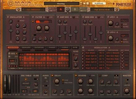 PinkNoise Studio Maia Orange Edition