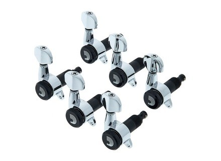 Planet Waves Auto-Trim Tuning Machines 331L Chrome
