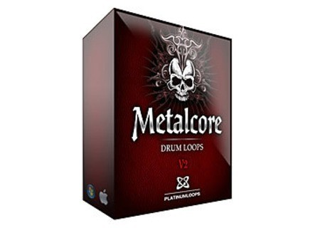 Platinum Loops Metalcore Death Metal Drums V2