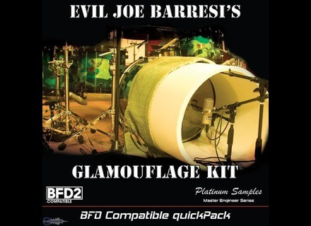 Platinum Samples Evil Joe Barresi's Glamouflage Kit QuickPack for BFD
