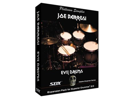 Platinum Samples Joe Baressi's Evil Drums