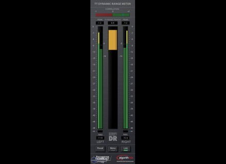 Pleasurize Music Foundation TT Dynamic Range Meter [Freeware]