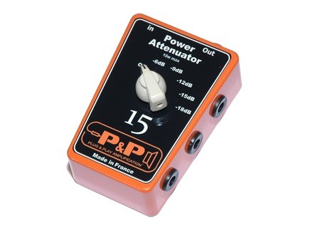 Plug & Play Amplification Power Attenuator 15