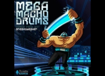 PlugInGuru MegaMacho Drums for BreakTweaker