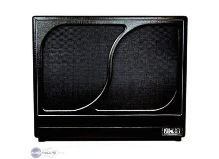 Port City Amps 4x10 Wave Cabinet