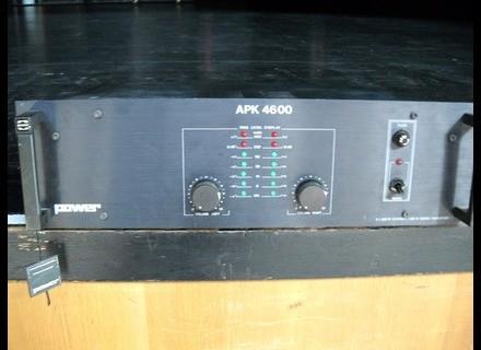 sav apk 4600 reviews power acoustics apk 4600 audiofanzine. Black Bedroom Furniture Sets. Home Design Ideas
