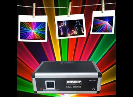 Power Lighting Saturne  2000 RGB