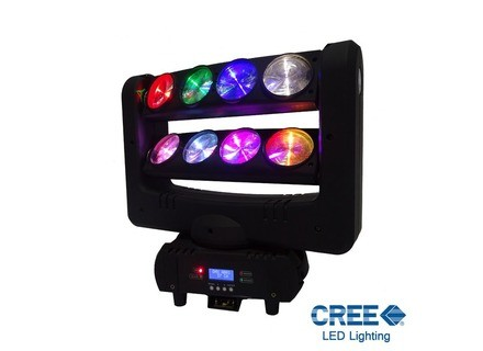 Power Lighting Spider LED Lyre RGBW