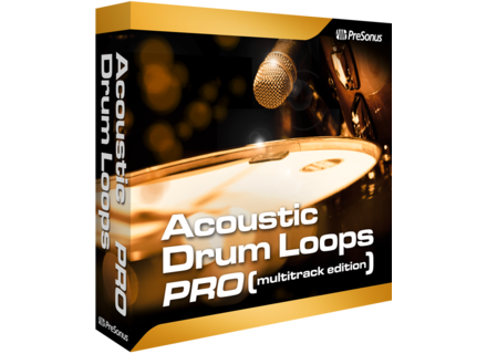PreSonus Acoustic Drum Loops Pro - Multitrack Edition