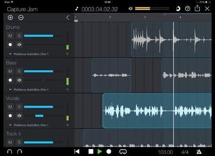 PreSonus Capture App